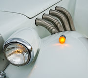 Details van uitstekende auto royalty-vrije stock foto