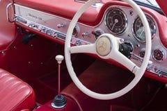 Details van uitstekende auto Royalty-vrije Stock Afbeeldingen