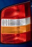Details van voertuigachterlicht Stock Afbeeldingen