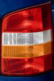 Details of vehicle taillight. Details of the rear light or taillight of a vehicle Stock Images