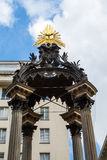 Details of Vermahlungsbrunnen (Marriage or Wedding Fountain in Vienna Royalty Free Stock Images