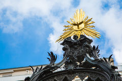 Details of Vermahlungsbrunnen (Marriage or Wedding Fountain in Vienna Stock Photography