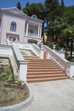 Details of villa stairs Stock Photos