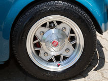 Details of vintage car. Of 'Italian fiat 500 Royalty Free Stock Photography