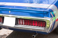 Details of vintage classic car Stock Photo