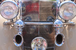 Details of vintage classic car Royalty Free Stock Photography