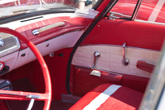 Details of vintage classic car Royalty Free Stock Photos