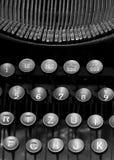Details of a Vintage typewriter Royalty Free Stock Image
