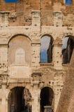 Details von colosseum Stockbild