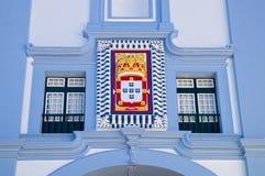 Details von Misericordia-Kirche, Angra, Azoren Lizenzfreies Stockfoto