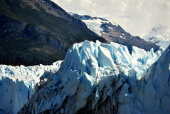 Details von ` s Perito Moreno Gletscher Stockbild