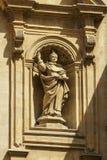 Details von San Domenico Church in Modica lizenzfreies stockfoto