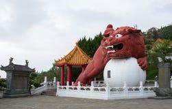 Details von Wenwu-Tempel Lizenzfreies Stockfoto
