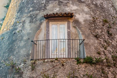 Details of wall of old village Royalty Free Stock Image