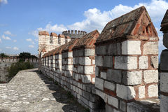 Details wall of Yedikule Fortress Royalty Free Stock Images