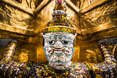 Details of Wat Phra Kaew, Temple of the Emerald Buddha Stock Images