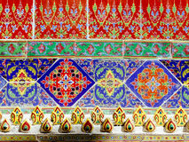 Details at Wat Ratchabopit Royalty Free Stock Photo