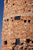 Details of the Watchtower at the Grand Canyon Royalty Free Stock Photos