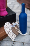 Details of the wedding decorations in the place for photographing Royalty Free Stock Images