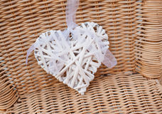 Details of the wedding decorations in the place for photographing Royalty Free Stock Photo