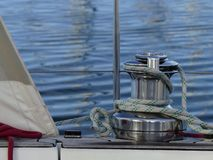 Sailing boat details Stock Photography