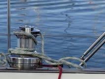 Sailing boat details Stock Image