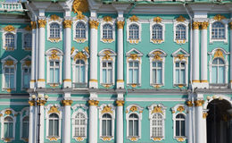 Details of Winter Palace, Saint Petersburg royalty free stock images