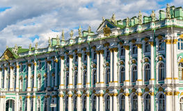 Details of the Winter Palace in Stain Petersburg Stock Photography