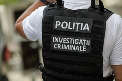 "Free Details With The Vest Of A Romanian Police Officer With The Text ""Politia. Investigatii Criminale"" Police. Crimnial Royalty Free Stock Images - 187121799"