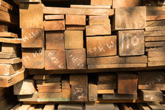 Details of wooden boards. Stock Image