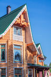 Details of wooden country house Stock Photography
