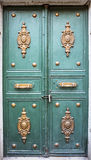 Details of Wooden Door Royalty Free Stock Images