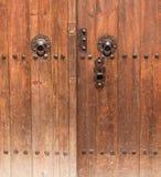 Details of Wooden Door Stock Images