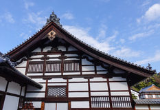 Details of wooden palace in Kyoto, Japan Royalty Free Stock Photography
