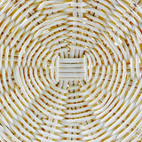 Details of woven basket Royalty Free Stock Images