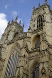 Details of York Cathedral, also called York Minster. Stock Photo