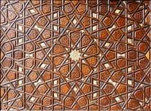 Detailsdeur van de Suleymaniye-Moskee Stock Afbeelding