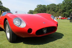 Detailweinlese Maserati Tipo 200S Stockfoto