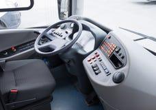 Detaisl of coach bus cabin Stock Photo