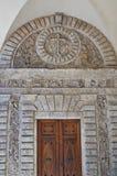 Detalha a arquitetura da cidade Catedral Itália Imagens de Stock