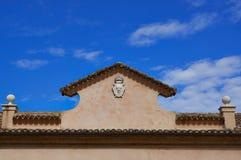 Detalha a arquitetura da cidade Senigallia Catedral Fotos de Stock Royalty Free