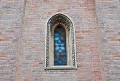 Detalha a arquitetura da cidade Senigallia Catedral Fotos de Stock