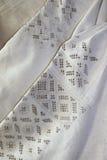 Detalha o bordado Imagens de Stock Royalty Free