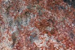 Detalhado perto acima da superfície do granito e os muros de cimento e os assoalhos imagem de stock