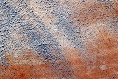 Detalhado perto acima da superf?cie de muros de cimento rachados e resistidos na alta resolu??o fotos de stock