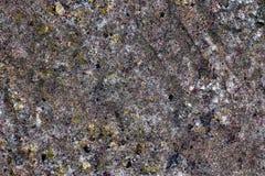 Detalhado perto acima da superf?cie de muros de cimento rachados e resistidos na alta resolu??o fotos de stock royalty free