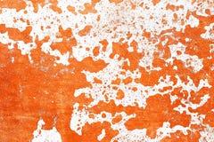 Detalhado perto acima da superf?cie de muros de cimento rachados e resistidos na alta resolu??o fotografia de stock