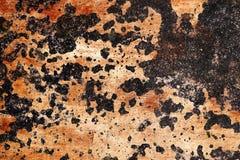 Detalhado perto acima da superf?cie de muros de cimento rachados e resistidos na alta resolu??o imagem de stock