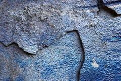Detalhado perto acima da superf?cie de muros de cimento rachados e resistidos na alta resolu??o imagem de stock royalty free