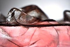 Detalhe 4 do gelo Imagem de Stock